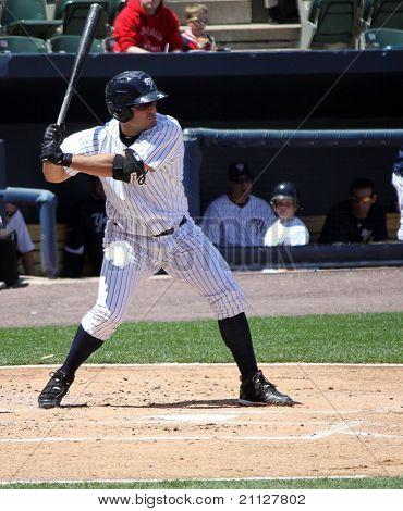 Scranton Wilkes Barre Yankees batter #21 Jesus Montero