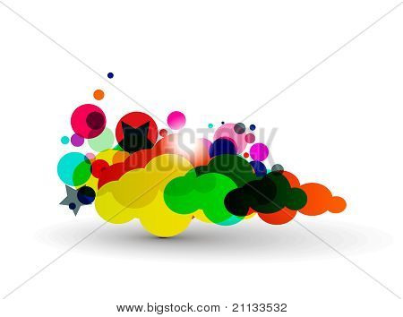 Colorful Cloud Design