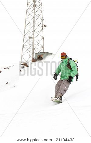Freerider On The Slope