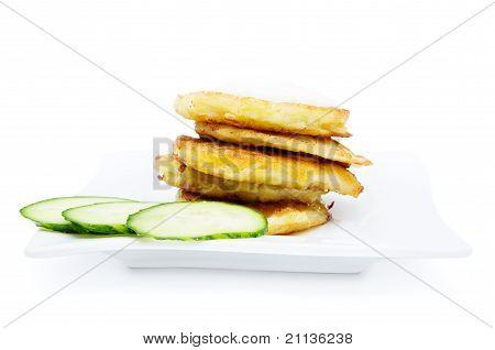 Traditional Delicious Potato Pancakes