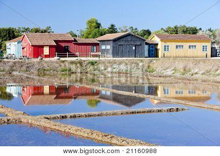 saline, Port des Salines, Oleron Island, Poitou-Charentes, France