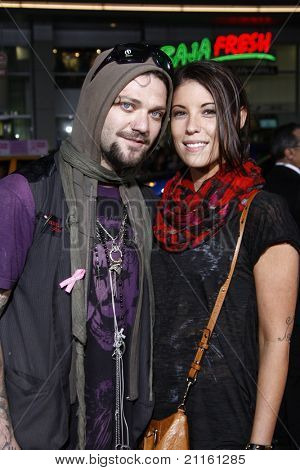 LOS ANGELES - APR 10: Bam Margera at the Jackass 3D premiere held at Grauman's Chinese Theater in Los Angeles, California on April 10, 2010