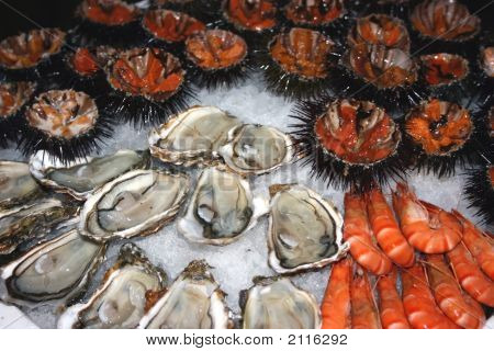 Seafood Decoration