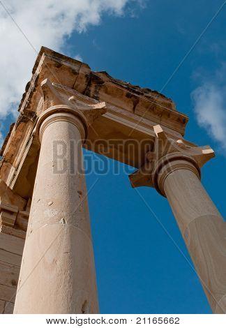 Greek Temple Of Apollon Hylates