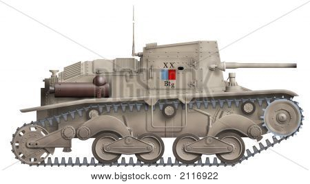 Ansaldo Self Propelled Gun