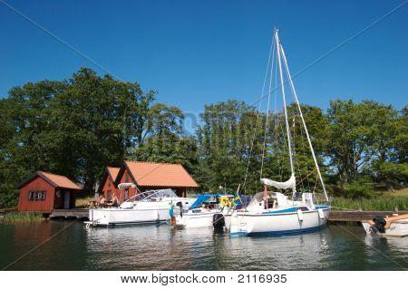 Sweden Boat Dock 12