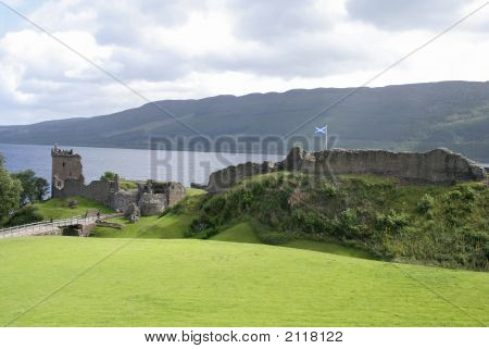 Castle And Loch Ness