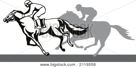 Jockey On Winning Run