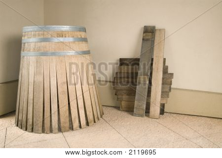 Oak Wine Barrel Parts