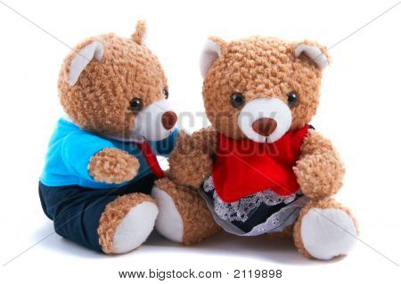 Mummy & Daddy Teddy Bears