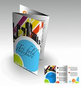 stock photo of brochure design  - beautiful Teri - JPG
