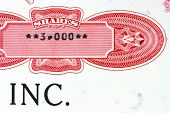 image of nyse  - Old stock certificate of an American corporation - JPG