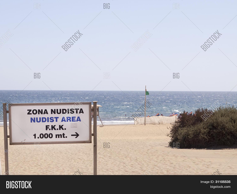 Nudist Zone Nudist Zone Sign