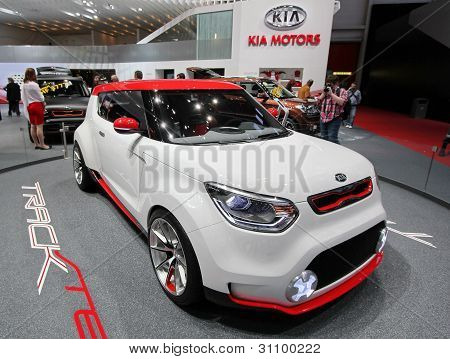 White And Red Kia Track'ster Concept