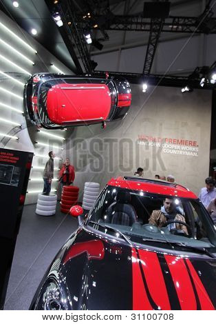 Red And Black Mini John Cooper Works Countryman