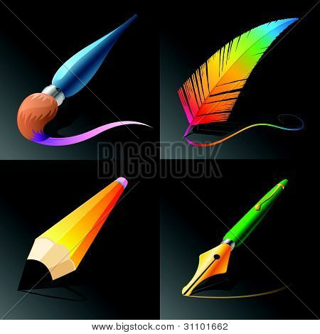 Vector Drawing and Painting Tools