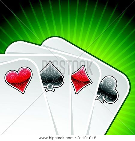 Vector Poker Cards