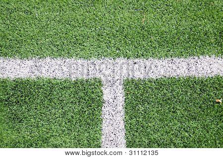 Green Grass Soccer Field