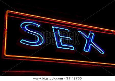 Sexy Shop Entrance