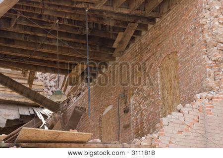 Tornado Damaged Building
