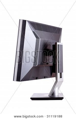 Professional Lcd Monitor, Back Side