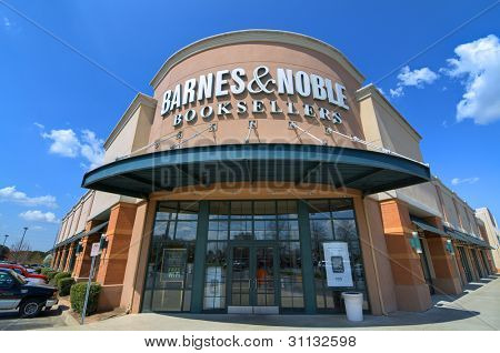ATHENS, GEORGIA - MARCH 15: Barnes and Noble Booksellers March 15, 2012 in Athens, GA. With over 700 stores nationwide, Barnes and Noble Inc. is the largest book retailer in the United States.