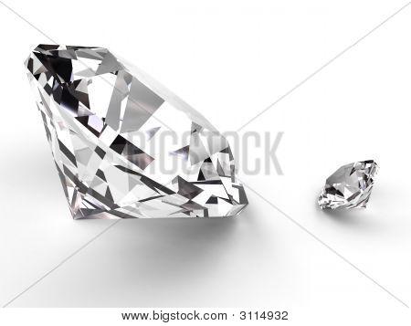 Big And Small Diamond