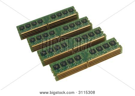 4 Column Of Computer Memory Modules 2