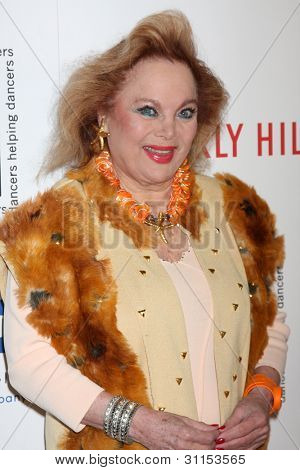 LOS ANGELES - MAR 18:  Carol Connors arrives at the Professional Dancer's Society Gypsy Awards at the Beverly Hilton Hotel on March 18, 2012 in Los Angeles, CA