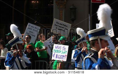 Gay & Lesbian Protestors