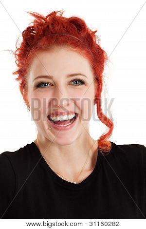 Laughing Redhead Female