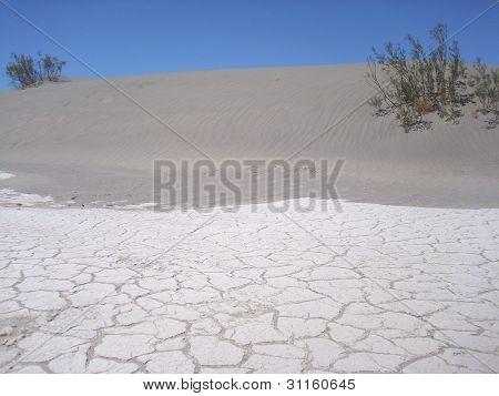 Sand desert in Death Valley