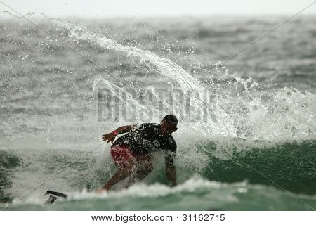 Coolangatta, Australia - Mar 03 : Quicksilver  Pro Asp World Tour, Jadson Andre During Expression Se