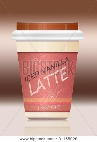 Iced Vanilla Latte.
