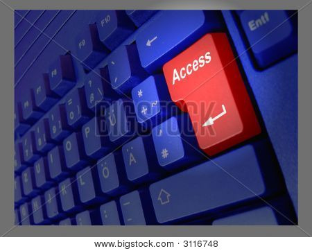 Teclado acesso