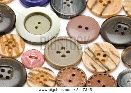 Set Of Dress Button