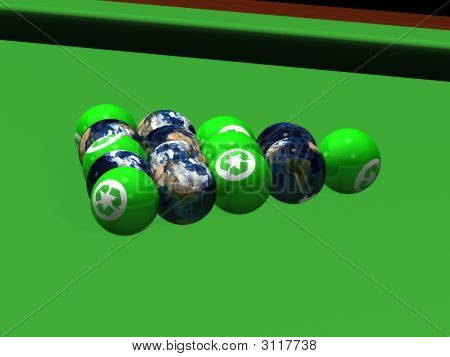 Recycle Billiard