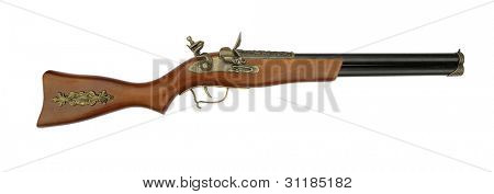 Old rifle blunderbuss shotgun