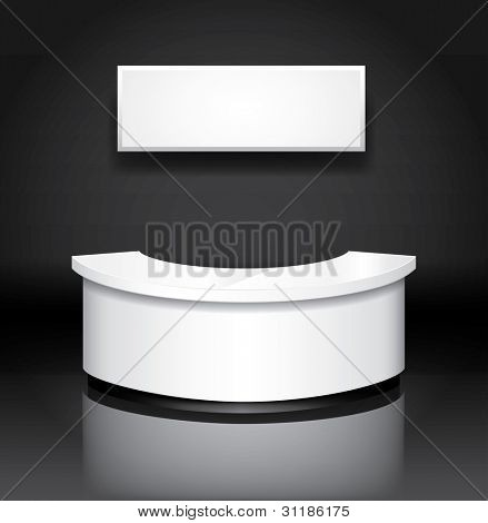 Vector reception/exhibition counter