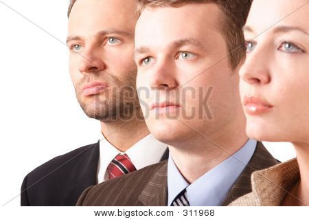 Business Team  - Portrait - Close Up