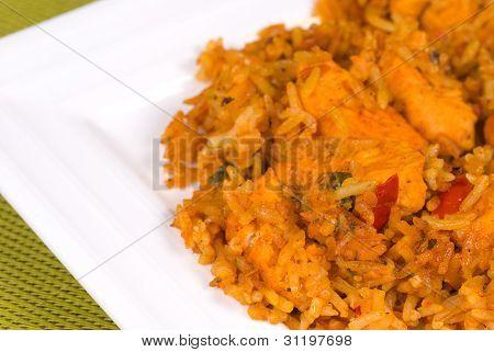 Chicken Tika Rice