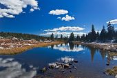 Yellowstone National Park: Beartooth Pass with lake
