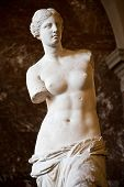 picture of exposition  - Statue of the Greek goddess Aphrodite discovered on the island of Melos  - JPG
