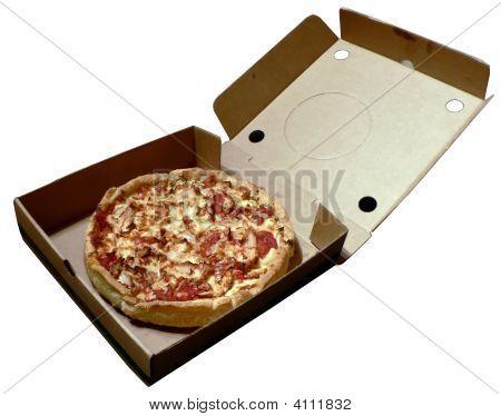 Pizza In Open Box 2008