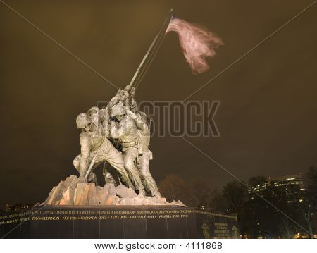 The Marine Corps War Memorial Rosslyn Buildings Washington Dc