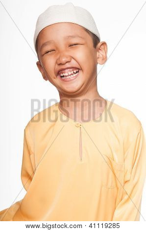 Cute Muslim Boy