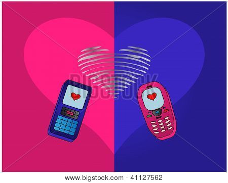 phones enamoured