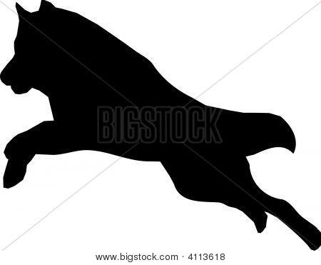laufenden wolf