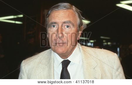 BRIGHTON, ENGLAND - OCTOBER 1: Rt.Hon. Dr.John Gilbert, Labour party Member of Parliament for Dudley East, attends the party conference on October 1, 1991 in Brighton, Sussex.