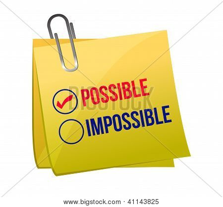 Possible Against Impossible